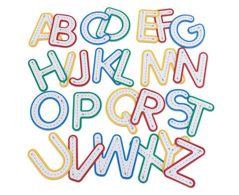 Betzold Buchstaben zum Fuehlen und Nachspuren