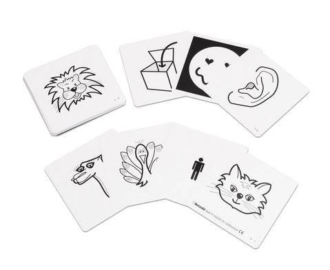 Betzold Einschubkarten fuer Pocket Cube 35 Motivkarten und 6 Farbkarten