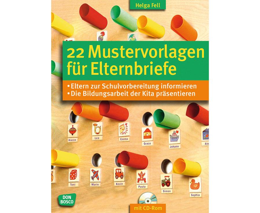 Buch: 22 Mustervorlagen für Elternbriefe - betzold.at